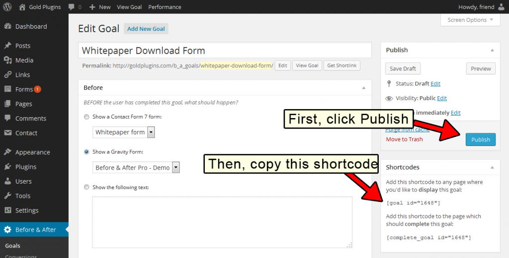 publish-and-get-shortcode