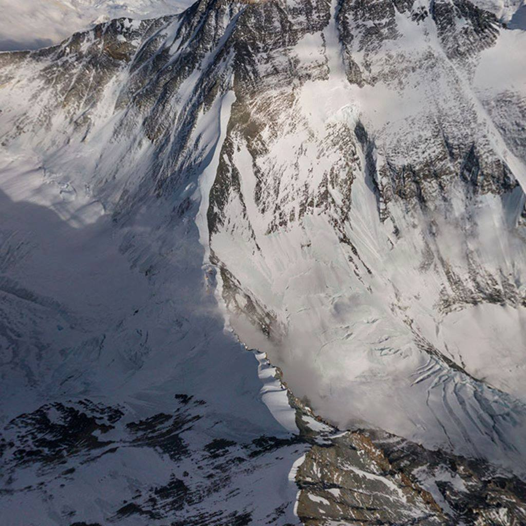 Using a drone modified to fly in thin air, photographer Renan Ozturk captured this stunning 360-degree panoramic view of Everest in its full grandeur. https://on.natgeo.com/2WFAHVt