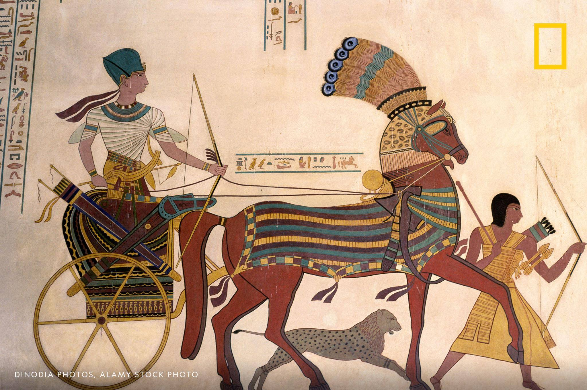 "Murder, succession and a 15 foot scroll of papyrus that reads like an ancient Egyptian episode of Law and Order. Get a deep dive into the harem conspiracy in this week's episode of ""Overheard."" https://on.natgeo.com/2lCQNCb"